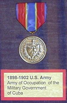 1898-1902 Army of Occupation medal.