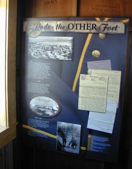 Information about Fort Dade.