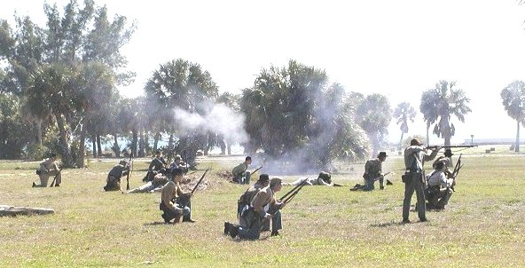 Florida Home Guard advances